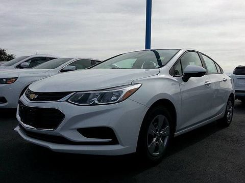 Image of Used 2017 Chevrolet Cruze LS