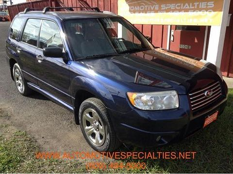 Image of Used 2006 Subaru Forester 2.5X