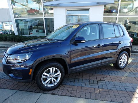 Image of Used 2012 Volkswagen Tiguan S