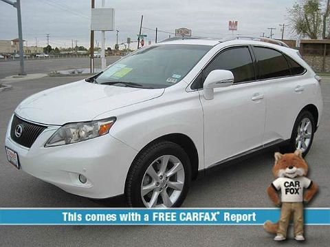 Image of Used 2010 Lexus RX 350