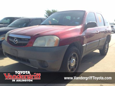 Image of Used 2001 Mazda Tribute DX
