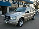 2001 MERCEDES-BENZ ML320 4MATIC