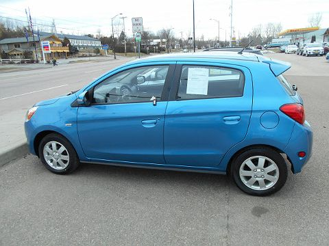 Image of Used 2015 Mitsubishi Mirage ES