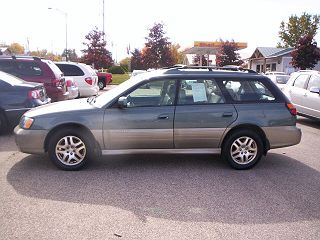 2001 SUBARU OUTBACK LIMITED EDITION