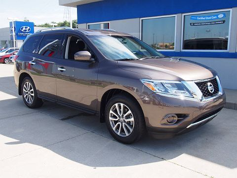 Image of CPO 2015 Nissan Pathfinder S