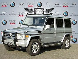 2011 MERCEDES-BENZ G550 4MATIC