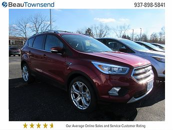 2019 Ford Escape Titanium en venta en Vandalia, OH Image