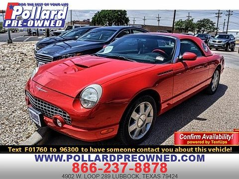 Image of Used 2002 Ford Thunderbird Premium