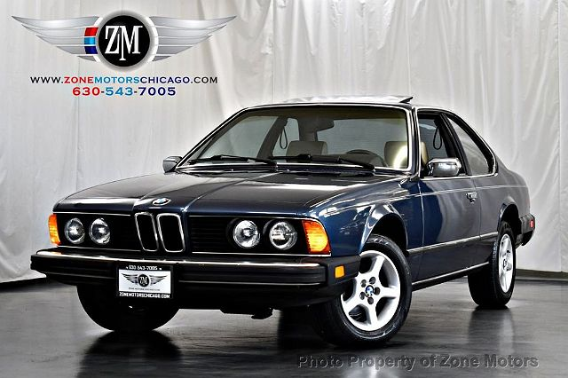 1984 BMW 6 Series 633CSi