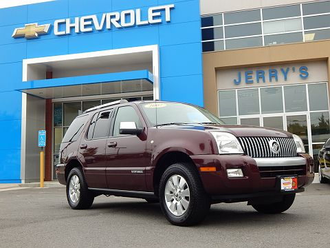 Image of Used 2007 Mercury Mountaineer Premier