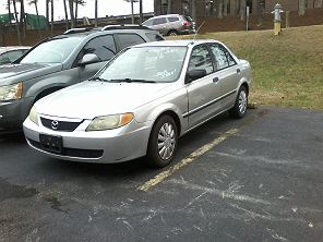 Image of Used 2002 Mazda Protege DX