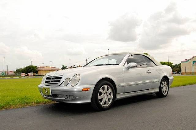 2001 Mercedes-Benz CLK 320