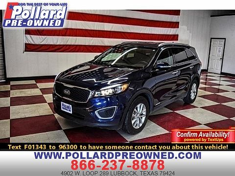 Image of Used 2016 Kia Sorento LX