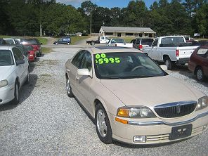 Image of Used 2000 Lincoln LS Sport
