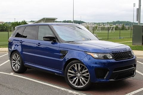 Image of Certified 2016 Land Rover Range Rover Sport Supercharged / SVR SVR
