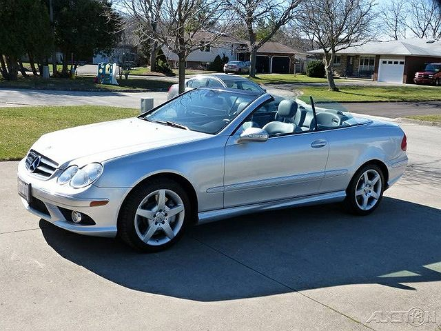 2007 Mercedes-Benz CLK 550