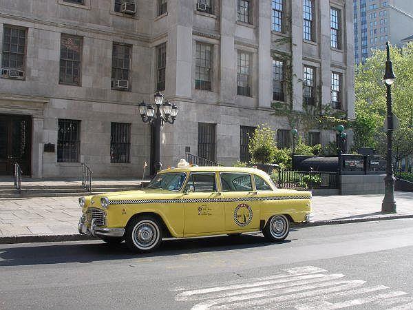 1965 Checker Cab