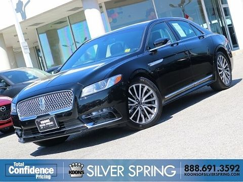 Image of Used 2017 Lincoln Continental Select