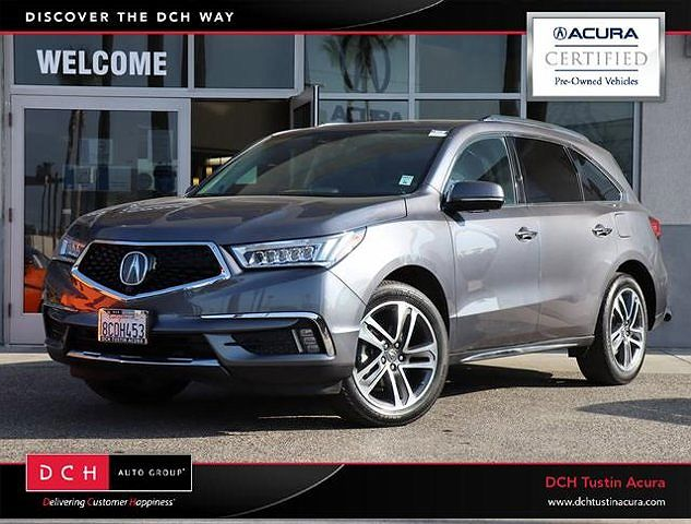 2018 Acura MDX Advance Entertainment