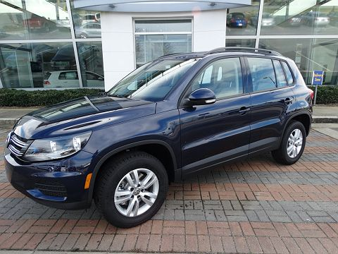 Image of New 2016 Volkswagen Tiguan S