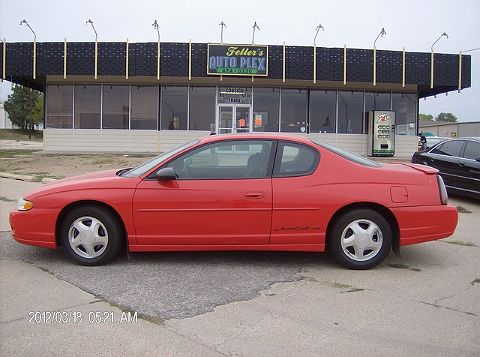 Image of Used 2000 Chevrolet Monte Carlo SS
