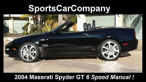 Image of Used 2004 Maserati Spyder GT