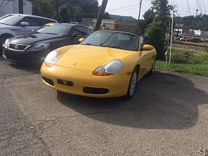 Image of Used 2001 Porsche 718 Boxster Base