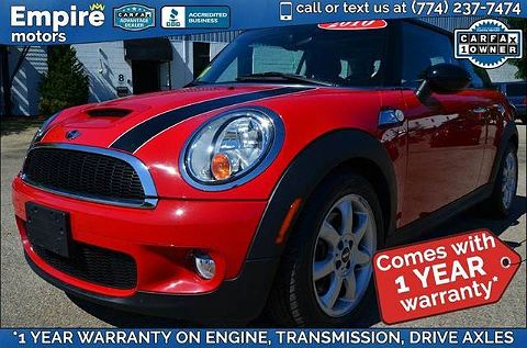 Image of Used 2010 Mini Cooper Hardtop / S S