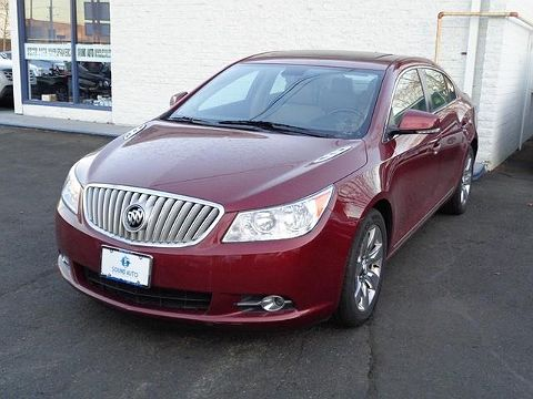 Image of Used 2010 Buick LaCrosse CXS