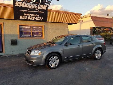 Image of Used 2012 Dodge Avenger SE
