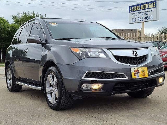 2012 Acura MDX Technology