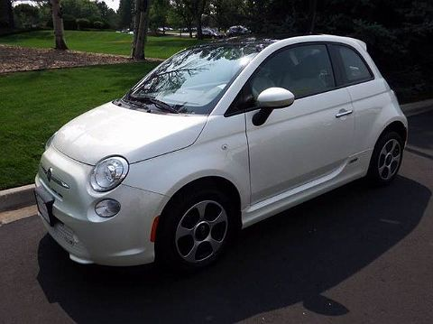 Image of Used 2014 Fiat 500e