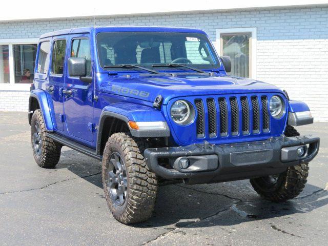 2019 Jeep Wrangler Sahara Moab