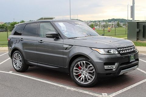 Image of New 2017 Land Rover Range Rover Sport Supercharged / SVR Supercharged