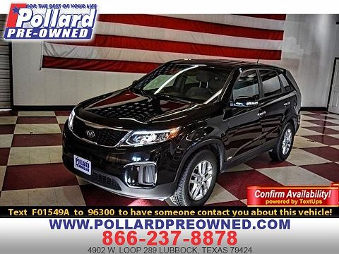 Image of Used 2015 Kia Sorento LX