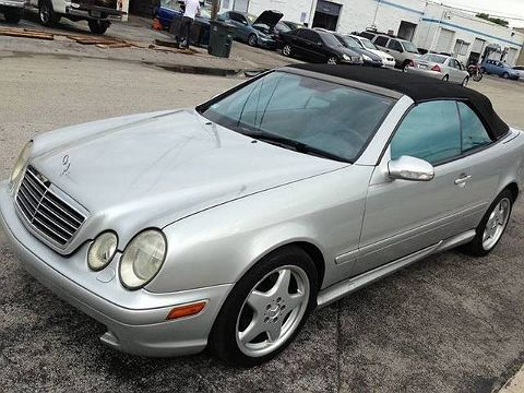 Image of Used 2000 Mercedes-Benz CLK-class 430