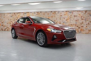 2021 Genesis G70 en venta en Weatherford, TX Image