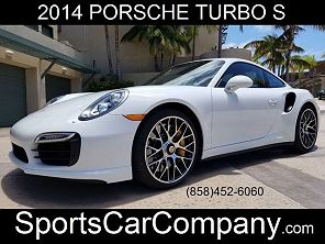 Image of Used 2014 Porsche 911 Turbo / Turbo S Turbo S