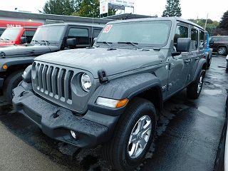 2018 JEEP WRANGLER UNLIMITED SPORT for sale in Hornell NY