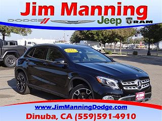 2018 MERCEDES-BENZ GLA 250 4MATIC for sale in Dinuba CA