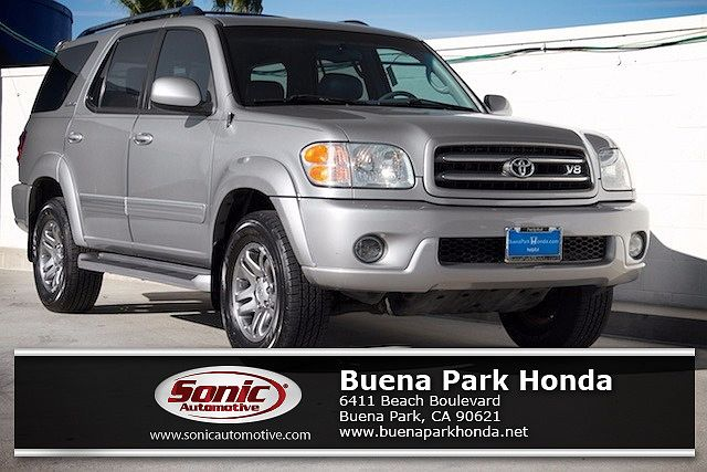 2004 Toyota Sequoia Limited Edition