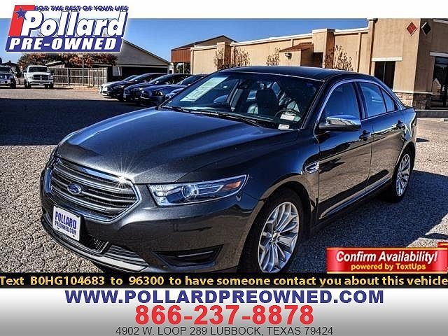 2017 Ford Taurus Limited Edition