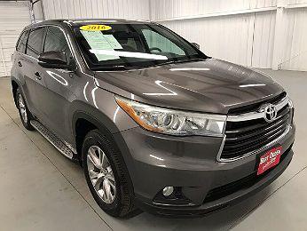 2016 Toyota Highlander LE en venta en Edinburg, TX Image