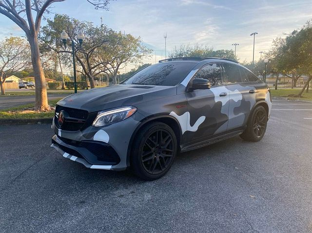 2016 Mercedes-Benz GLE 63 AMG S Coupe