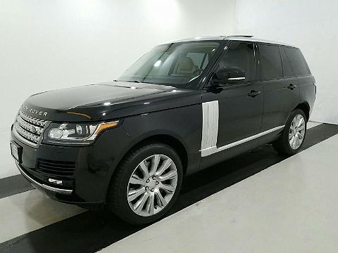 Image of Used 2015 Land Rover Range Rover Supercharged Supercharged