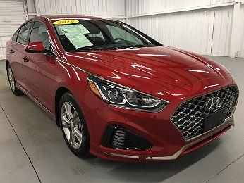 2019 Hyundai Sonata Sport en venta en Edinburg, TX Image