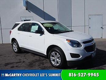 2017 Chevrolet Equinox LS en venta en Olathe, KS Image