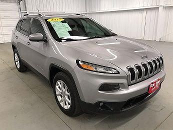 2017 Jeep Cherokee Latitude en venta en Edinburg, TX Image