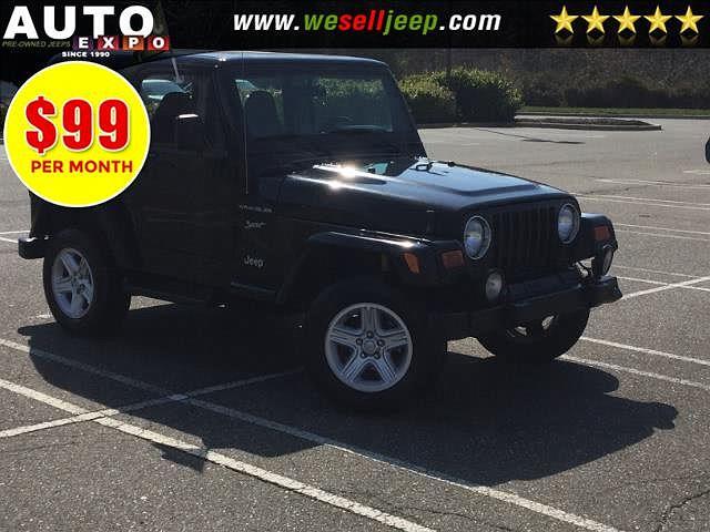 2002 Jeep Wrangler Sport