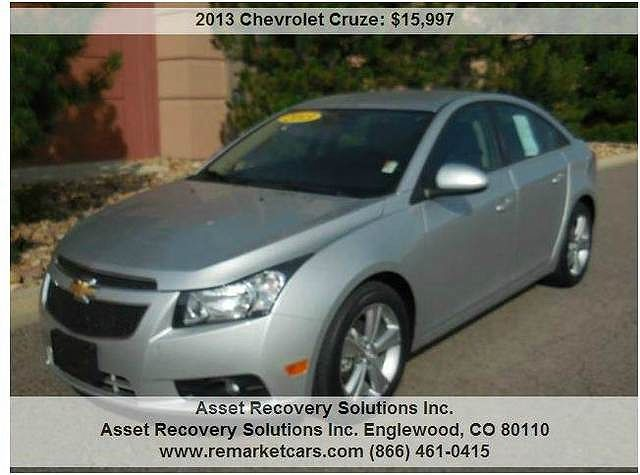 2013 Chevrolet Cruze LT 1FL